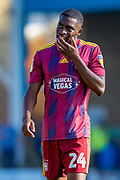 Ipswich Town defender Kane Vincent-Young (24) during the EFL Sky Bet League 1 match between Gillingham and Ipswich Town at the MEMS Priestfield Stadium, Gillingham, England on 21 September 2019.