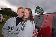 Brooke Erdy, and Kim Mayo during Parents Weekend. © Ohio University / Photo by Rick Fatica