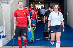 Dereham v Bristol Firebrands - Mixed Championships Tier 2 3rd/4th Play off, Lee Valley Hockey & Tennis Centre, London, UK on 03 June 2018. Photo: Simon Parker