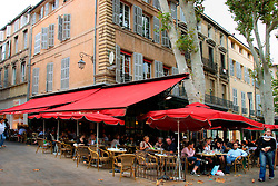 FRANCE PROVENCE AIX EN PROVENCE 3OCT06 - Classic Brasserie for coffees and pastries in the centre of Aix en Provence, southern France...jre/Photo by Jiri Rezac..© Jiri Rezac 2006..Contact: +44 (0) 7050 110 417.Mobile:  +44 (0) 7801 337 683.Office:  +44 (0) 20 8968 9635..Email:   jiri@jirirezac.com.Web:    www.jirirezac.com..© All images Jiri Rezac 2006 - All rights reserved.