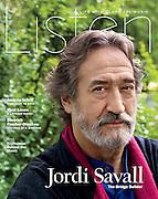 """Jordi Savall: The Bridge Builder"", Listen Magazine, Fall 2012"