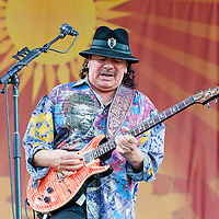 Carlos Santana, New Orleans Jazz & Heritage Festival 2014