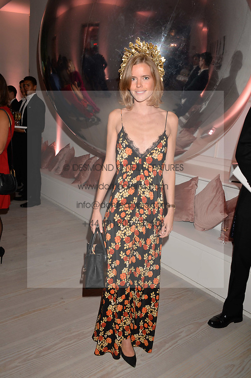 Katie Readman at the Tatler's English Roses 2017 party in association with Michael Kors held at the Saatchi Gallery, London England. 29 June 2017.<br /> Photo by Dominic O'Neill/SilverHub 0203 174 1069 sales@silverhubmedia.com