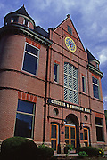 Historic Van Dyck Civic Building restored as bank, Troy, Bradford County, PA