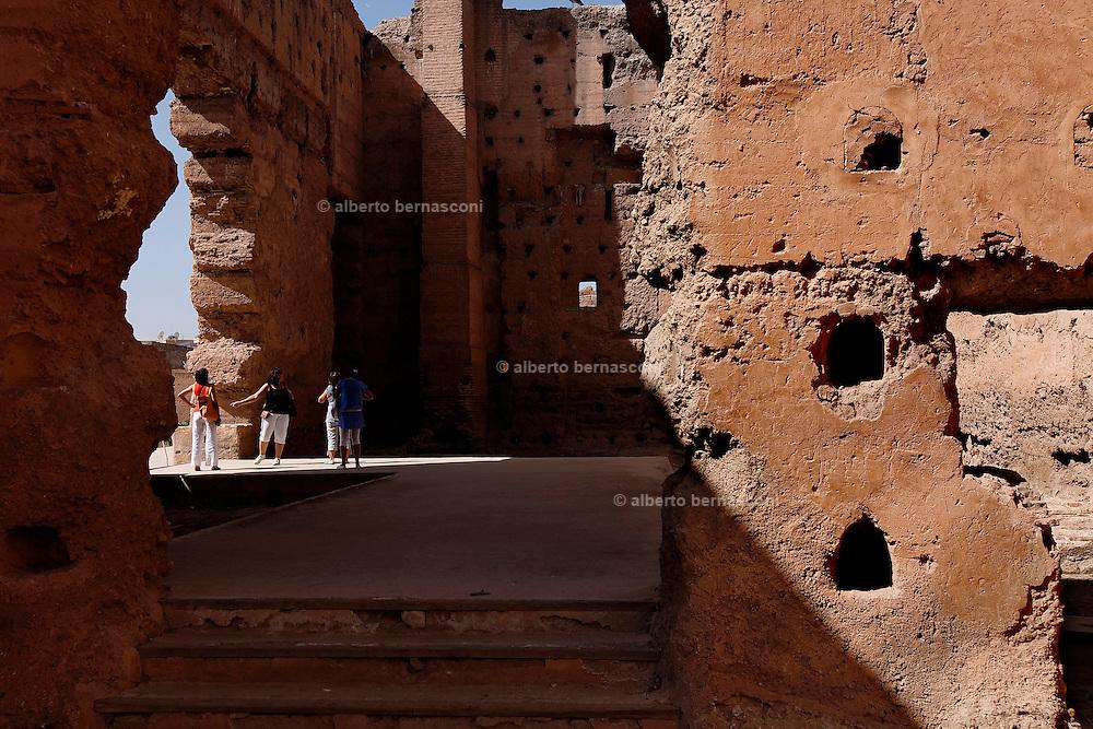MAROC, Marrakesh: palais el Badiaa Morocco