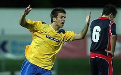 Mitja Viler of Koper scored at 1st game of UEFA Cup  Qualifying Round 1 between FC Anet Koper, Slovenia vs KS Vllaznia Shkoder, Albania, on July 17, 2008, in Nova Gorica, Slovenia. Vlazznia won the match 2:1. (Photo by Vid Ponikvar / Sportal Images)