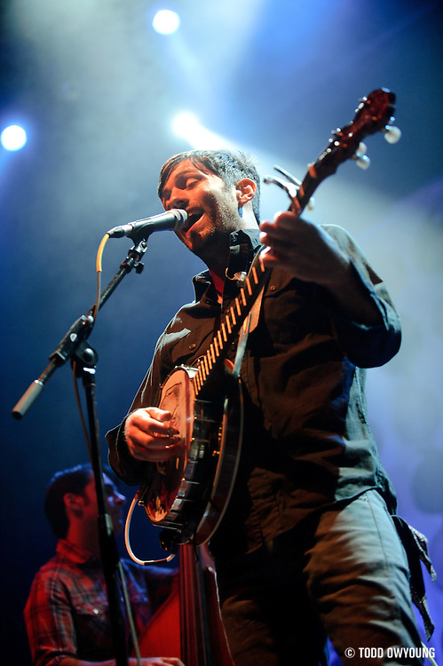 Photos of The Avett Brothers performing at the Pageant in St. Louis on September 24, 2010.