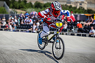 11 Boys #1 (FREDERICK Cole) USA at the 2018 UCI BMX World Championships in Baku, Azerbaijan.