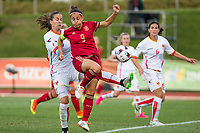 Spain's Veronica Boquete Montenegro's Tatjana Djurkovic during the match of  European Women's Championship 2017 at Las Rozas, between Spain and Montenegro. September 15, 2016. (ALTERPHOTOS/Rodrigo Jimenez)