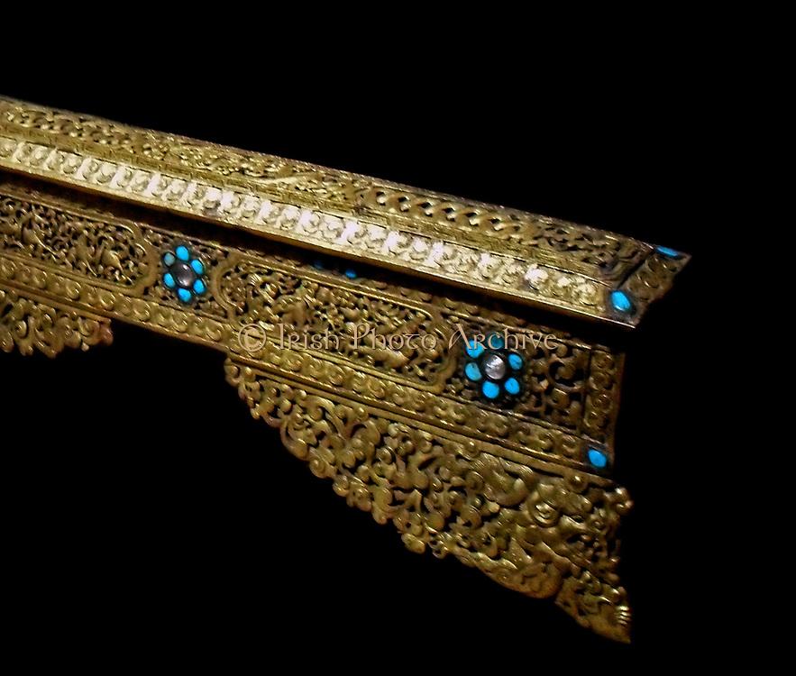 Incense burner 16th century to 17th century, origin uncertain, Tibet