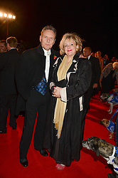 Actor ANTHONY HEAD and SARAH FISHER at the Collars & Coats Gala Ball in aid of Battersea Dogs & Cats Home held at Battersea Evolution, Battersea Park, London on 7th November 2013.