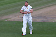 Essex bowler Graham Napier during the Specsavers County Champ Div 2 match between Sussex County Cricket Club and Essex County Cricket Club at the 1st Central County Ground, Hove, United Kingdom on 17 April 2016. Photo by Bennett Dean.