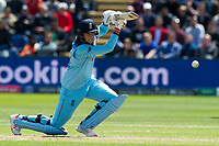 Cricket - 2019 ICC Cricket World Cup - Group Stage: England vs Bangladesh<br />                          <br />                Joe Root,  cover drives<br /> …at Cardiff Wales Stadium.<br /> <br /> Credit: COLORSPORT/WINSTON BYNORTH