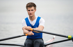 03.05.2018, Seeteufel, Waging am See, GER, Lukas Reim im Portrait, im Bild der Österreichische Ruderer Lukas Reim posiert während einer Fotosession // the Austrian rower Lukas Reim poses for a portrait during a photo session at the Seeteufel in Waging am See, Germany on 2018/05/03. EXPA Pictures © 2018, PhotoCredit: EXPA/ Ernst Wukits