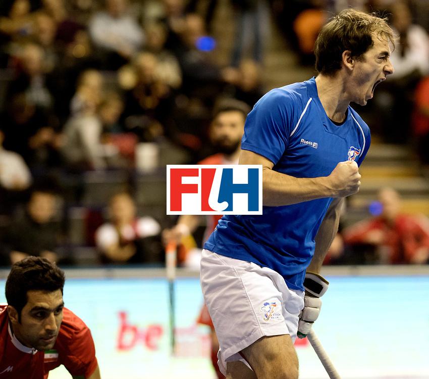 BERLIN - Indoor Hockey World Cup<br /> Quarterfinal 1: Iran - Czech Republic<br /> foto: JAHODA Tomas.<br /> WORLDSPORTPICS COPYRIGHT FRANK UIJLENBROEK