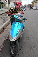 Scooter in Ciego de Avila, Cuba.