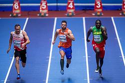 02-02-2018 GBR: World Indoor Championships Athletics day 2, Birmingham<br /> Dominik Distelberger AUT, Eelco Sintnicolaas NED, Heptathlon , Linden Victor GRN