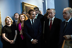 Paris: President Putin meets Prime Minister Macron - 29 May 2017
