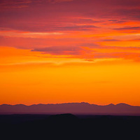 sun setting over the little rocky mountains, montana sunset conservation photography - montana wild prairie