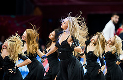 Cheerleaders Red foxes perform during basketball match between National Teams of Russia and Serbia at Day 16 in Semifinal of the FIBA EuroBasket 2017 at Sinan Erdem Dome in Istanbul, Turkey on September 15, 2017. Photo by Vid Ponikvar / Sportida