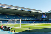 General view of Ibrox ahead of the Ladbrokes Scottish Premiership match between Rangers and Celtic at Ibrox, Glasgow, Scotland on 12 May 2019.