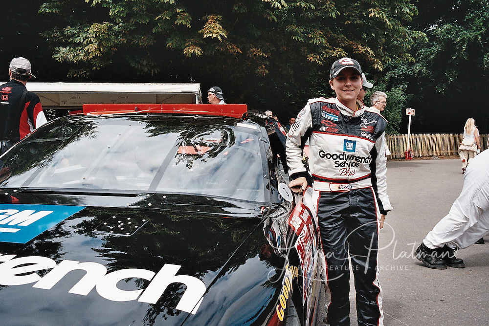 Taylor Earnhardt at Goodwood Festival of Speed