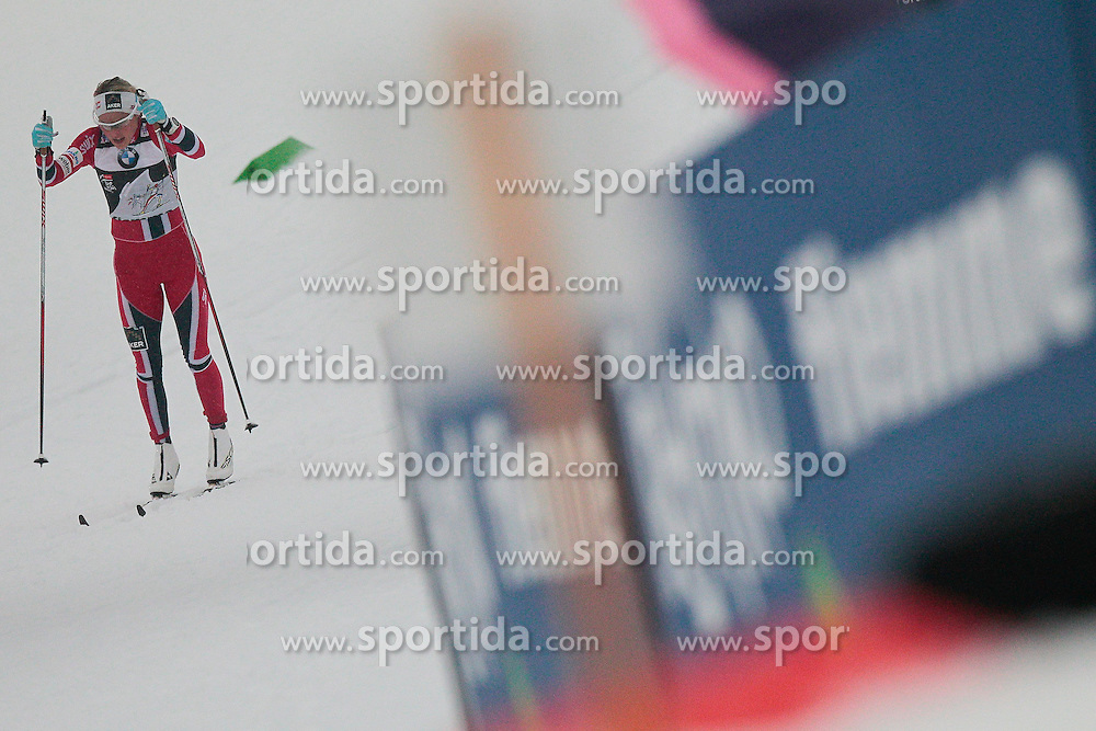 04.01.2014, Langlaufstadion, Lago di Tesero, ITA, FIS Langlauf Weltcup, Tour de Ski, Langlauf Damen, Individual Start 5Km, im Bild Johaug Therese (NOR) // during the Ladies 5 km Cross Country of the Tour de Ski 2014 of FIS Cross Country World Cup at the Cross Country Stadium, Lago di Tesero, Italy on 2014/01/04. EXPA Pictures © 2014, PhotoCredit: EXPA/ Federico Modica