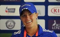 England's Katherine Brunt - Photo mandatory by-line: Harry Trump/JMP - Mobile: 07966 386802 - 21/07/15 - SPORT - CRICKET - Women's Ashes - Royal London ODI - England Women v Australia Women - The County Ground, Taunton, England.
