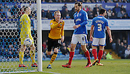 Portsmouth v Newport County 12/03/2016