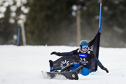Elizaveta Salikhova (RUS) during Quarter-final Run of Ladie's Parallel Giant Slalom at FIS Snowboard World Cup Rogla 2016, on January 23, 2016 in Course Jasa, Rogla, Slovenia. Photo by Urban Urbanc / Sportida