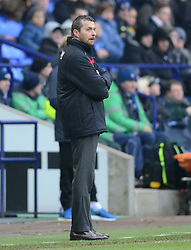 Watford Manager, Slavisa Jokanovic looks on - Photo mandatory by-line: Richard Martin-Roberts/JMP - Mobile: 07966 386802 - 14/02/2015 - SPORT - Football - Bolton - Macron Stadium - Bolton Wanderers v Watford - Sky Bet Championship