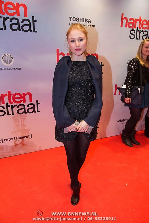 NLD/Amsterdam/20140310 - Inloop premiere Hartenstraat, Sigrid ten Napel