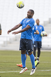 July 26, 2017 - Marseille, FRANCE - Oostende's Sebastien Siani pictured in action during a training session of Belgian first division soccer team KV Oostende ahead of the first leg of the third qualifying round for the UEFA Europa League competition, Wednesday 26 July 2017 in Marseille. KV Oostende plays against Olympic Marseille on Thursday...BELGA PHOTO LAURIE DIEFFEMBACQ (Credit Image: © Laurie Dieffembacq/Belga via ZUMA Press)