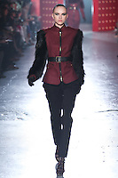 Anabela Belikova walks down runway for F2012 Jason Wu's collection in Mercedes Benz fashion week in New York on Feb 10, 2012 NYC