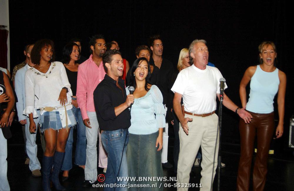 1e Repetitiedag Copacabana Amsterdam, cast