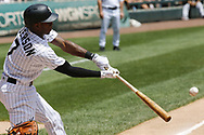 June 15, 2017 - Chicago, IL, USA - Chicago White Sox shortstop Tim Anderson (7) flies out in the first inning against the Baltimore Orioles at Guaranteed Rate Field Thursday, June 15, 2017 in Chicago. The White Sox won, 5-2. (Credit Image: © Jose M. Osorio/TNS via ZUMA Wire)