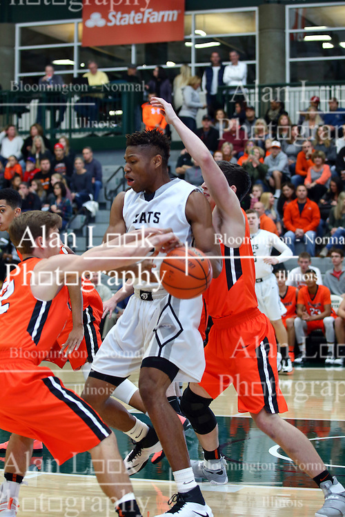 26 November 2016: IHSA Boys Basketball.  Intercity at Shirk Center, Bloomington Illinois