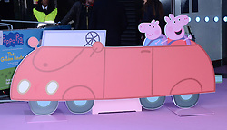 Vanessa Feltz attends The Premiere of Peppa Pig: The Golden Boots at The Odeon, Leicester Square, London on Sunday 1 February 2015