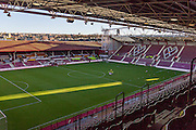 Tyne castle Stadiums main stand during the Ladbrokes Scottish Premiership match between Heart of Midlothian and Celtic at Tynecastle Stadium, Gorgie, Scotland on 27 December 2015. Photo by Craig McAllister.