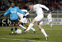 Fotball<br /> UEFA-cup<br /> Auxerre v PSV Eindhoven<br /> 11. mars 2004<br /> Foto: Digitalsport<br /> Norway Only<br /> <br /> TEEMU TAINIO (AUX) <br /> <br /> <br />  *** Local Caption *** 40001078