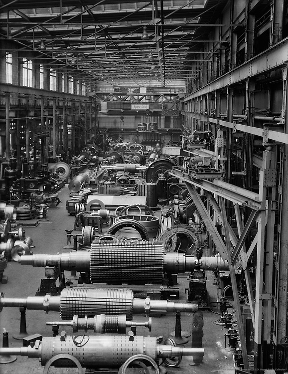 Assembly Hall for Generators, Siemens-Schuckertwerke, Gartenfeld, Berlin-Spandau, 1928