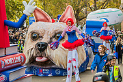 Metro Bank - The new Lord Mayor (Peter Estlin, the 691st) was sworn in yesterday. To celebrate, today is the annual Lord Mayor's Show. It includes Military bands, vintage buses, Dhol drummers, a combine harvester and a giant nodding dog in the three-mile-long procession. It brings together over 7,000 people, 200 horses and 140 motor and steam-driven vehicles in an event that dates back to the 13th century. The Lord Mayor of the City of London rides in the gold State Coach.