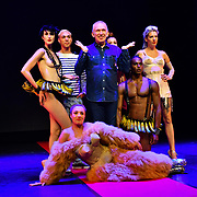 Designer Jean Paul Gaultier brings his fashion cabaret show to the UK following its residency in Paris on 23 July 2019, at Queen Elizabeth Hall, London, UK.