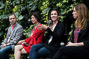 Abby Taubner from gener8tor at the Wisconsin Entrepreneurship Conference at Venue 42 in Milwaukee, Wisconsin, Tuesday, June 4, 2019.