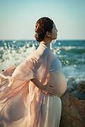 Maternity shoot at Itoshima.