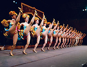 NEW YORK - March 31: Rehearsal of Mack and Mabel featuring the Radio City Rockettes at Avery Fisher Hall March 31, 2003 in New York City.  (Photo by Matthew Peyton)