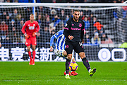 Cenk Tosun of Everton (14) in action during the Premier League match between Huddersfield Town and Everton at the John Smiths Stadium, Huddersfield, England on 29 January 2019.