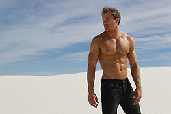 sexy man in White Sands, NM