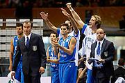 SIAULIA 02 SETTEMBRE 2011<br /> BASKET CAMPIONATO EUROPEO<br /> LETTONIA ITALIA<br /> NELLA FOTO ESULTANZA<br /> FOTO CIAMILLO