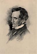 Lardner Vanuxem (1792-1848) American geologist born in Philadelphia, Pennsylvania, he studied geology in Paris.    Appointed to the first Geological Survey of New York in 1836. Engraving, 1896.